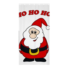 Santa Claus pattern - transparent Shower Curtain 36  x 72  (Stall)