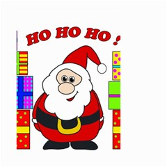 Santa Claus Pattern   Transparent Small Garden Flag (two Sides)