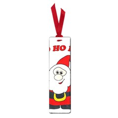 Santa Claus pattern - transparent Small Book Marks
