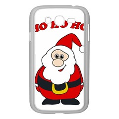 Santa Claus pattern - transparent Samsung Galaxy Grand DUOS I9082 Case (White)