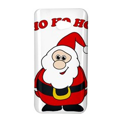 Santa Claus pattern - transparent HTC Butterfly S/HTC 9060 Hardshell Case