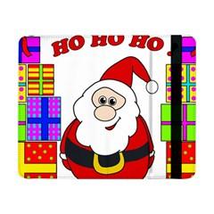 Santa Claus pattern - transparent Samsung Galaxy Tab Pro 8.4  Flip Case