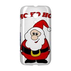 Santa Claus pattern - transparent Motorola Moto G