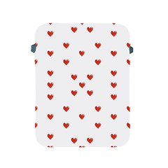 Cute Hearts Motif Pattern Apple Ipad 2/3/4 Protective Soft Cases
