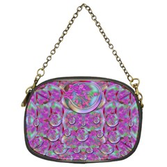 Paradise Of Wonderful Flowers In Eden Chain Purses (two Sides)