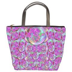 Paradise Of Wonderful Flowers In Eden Bucket Bags