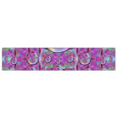 Paradise Of Wonderful Flowers In Eden Flano Scarf (small)