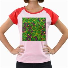 Christmas decor - green Women s Cap Sleeve T-Shirt