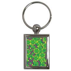 Christmas decor - green Key Chains (Rectangle)