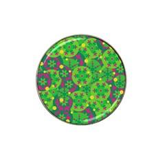 Christmas decor - green Hat Clip Ball Marker