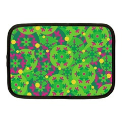 Christmas decor - green Netbook Case (Medium)