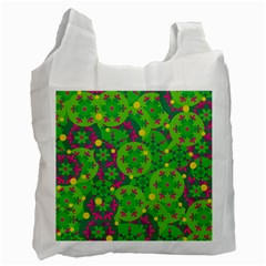 Christmas decor - green Recycle Bag (One Side)
