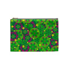 Christmas decor - green Cosmetic Bag (Medium)