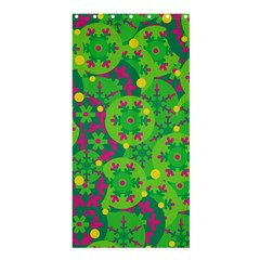 Christmas decor - green Shower Curtain 36  x 72  (Stall)
