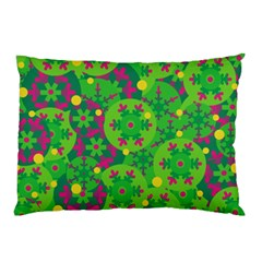 Christmas decor - green Pillow Case (Two Sides)