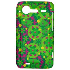 Christmas decor - green HTC Incredible S Hardshell Case