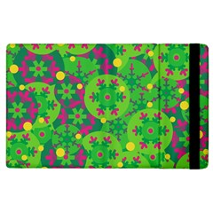 Christmas decor - green Apple iPad 2 Flip Case