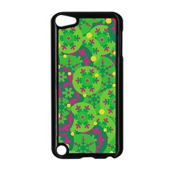 Christmas decor - green Apple iPod Touch 5 Case (Black)