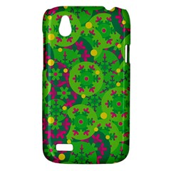 Christmas decor - green HTC Desire V (T328W) Hardshell Case