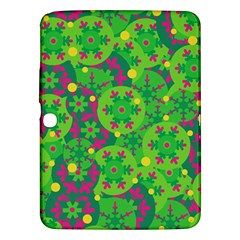 Christmas decor - green Samsung Galaxy Tab 3 (10.1 ) P5200 Hardshell Case