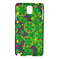 Christmas decor - green Samsung Galaxy Note 3 N9005 Hardshell Case
