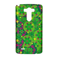 Christmas decor - green LG G3 Hardshell Case