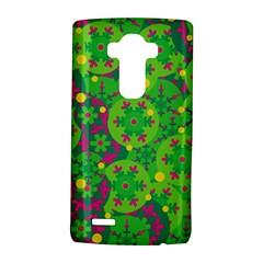 Christmas decor - green LG G4 Hardshell Case