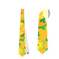 Christmas decor - yellow Neckties (Two Side)