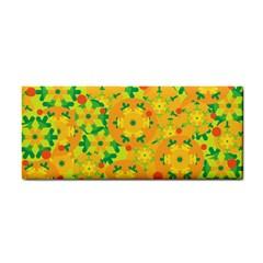 Christmas decor - yellow Hand Towel