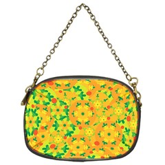 Christmas Decor   Yellow Chain Purses (one Side)