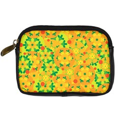 Christmas decor - yellow Digital Camera Cases