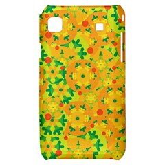 Christmas decor - yellow Samsung Galaxy S i9000 Hardshell Case