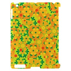 Christmas decor - yellow Apple iPad 2 Hardshell Case (Compatible with Smart Cover)