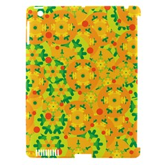 Christmas decor - yellow Apple iPad 3/4 Hardshell Case (Compatible with Smart Cover)