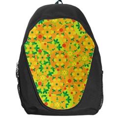Christmas decor - yellow Backpack Bag