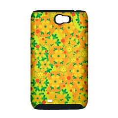 Christmas decor - yellow Samsung Galaxy Note 2 Hardshell Case (PC+Silicone)