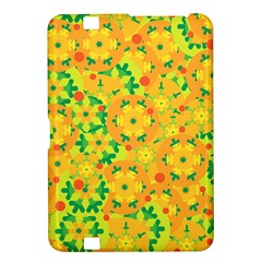 Christmas decor - yellow Kindle Fire HD 8.9