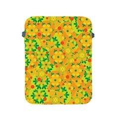 Christmas decor - yellow Apple iPad 2/3/4 Protective Soft Cases