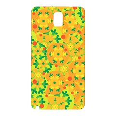 Christmas decor - yellow Samsung Galaxy Note 3 N9005 Hardshell Back Case