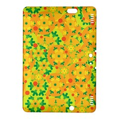 Christmas decor - yellow Kindle Fire HDX 8.9  Hardshell Case