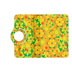 Christmas decor - yellow Kindle Fire HD (2013) Flip 360 Case