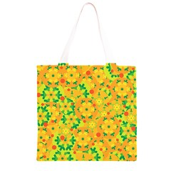 Christmas decor - yellow Grocery Light Tote Bag