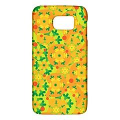 Christmas decor - yellow Galaxy S6