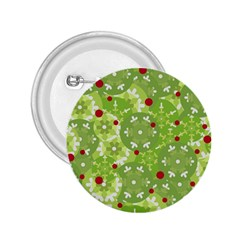 Green Christmas decor 2.25  Buttons
