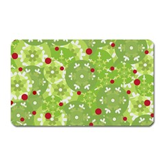Green Christmas decor Magnet (Rectangular)