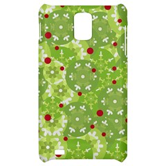 Green Christmas decor Samsung Infuse 4G Hardshell Case