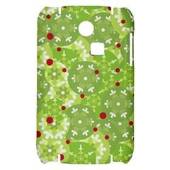 Green Christmas decor Samsung S3350 Hardshell Case