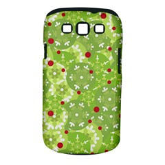 Green Christmas decor Samsung Galaxy S III Classic Hardshell Case (PC+Silicone)