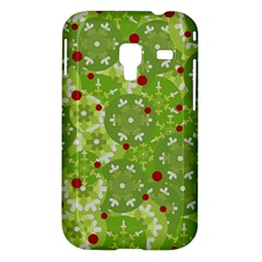 Green Christmas decor Samsung Galaxy Ace Plus S7500 Hardshell Case