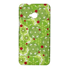 Green Christmas decor HTC One M7 Hardshell Case